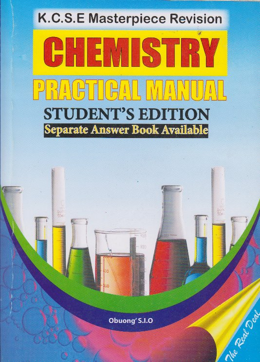 KCSE Masterpiece Revision Chemistry Practical Manual ...