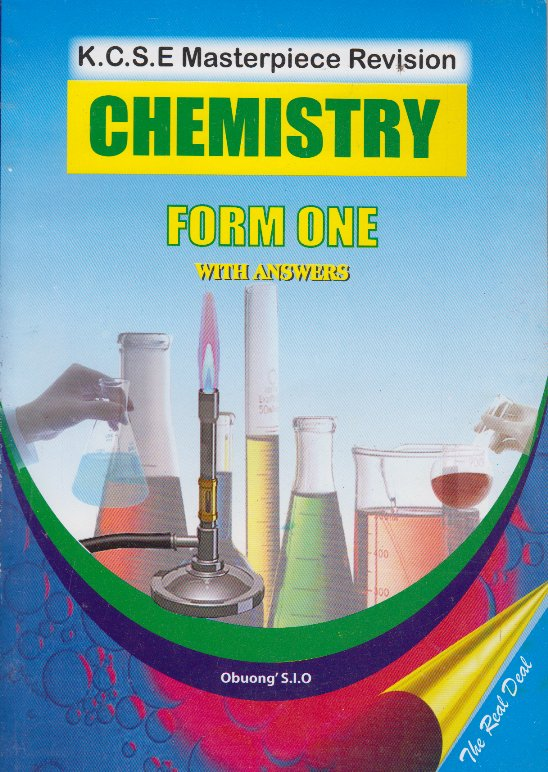 K C S E Masterpiece revision chemistry form one with answers  | Books,  Stationery, Computers, Laptops and more  Buy online and get free delivery  on