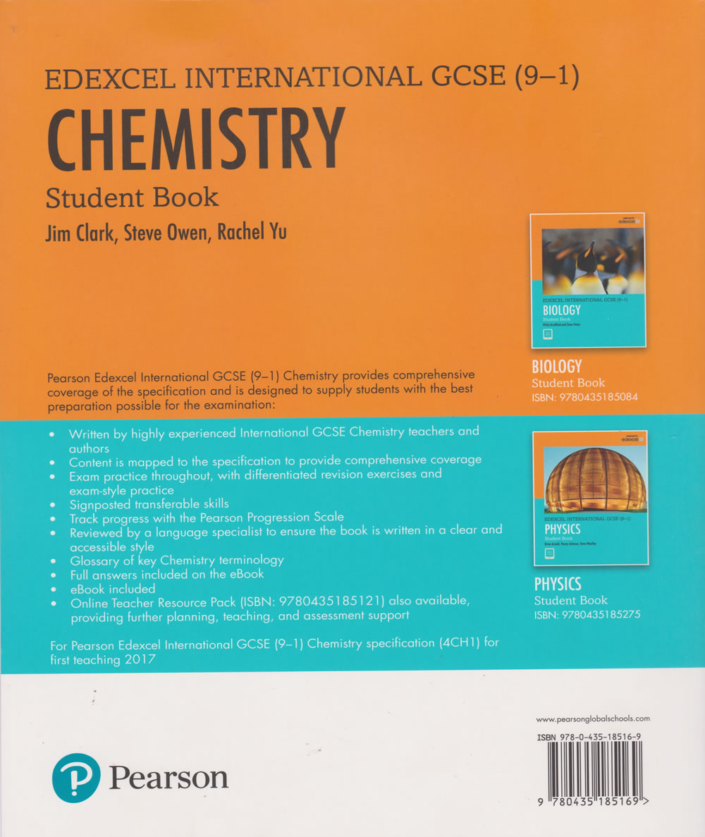 Edexcel Intern GCSE (9-1) Chemistry student book | Books, Stationery,  Computers, Laptops and more  Buy online and get free delivery on orders  above