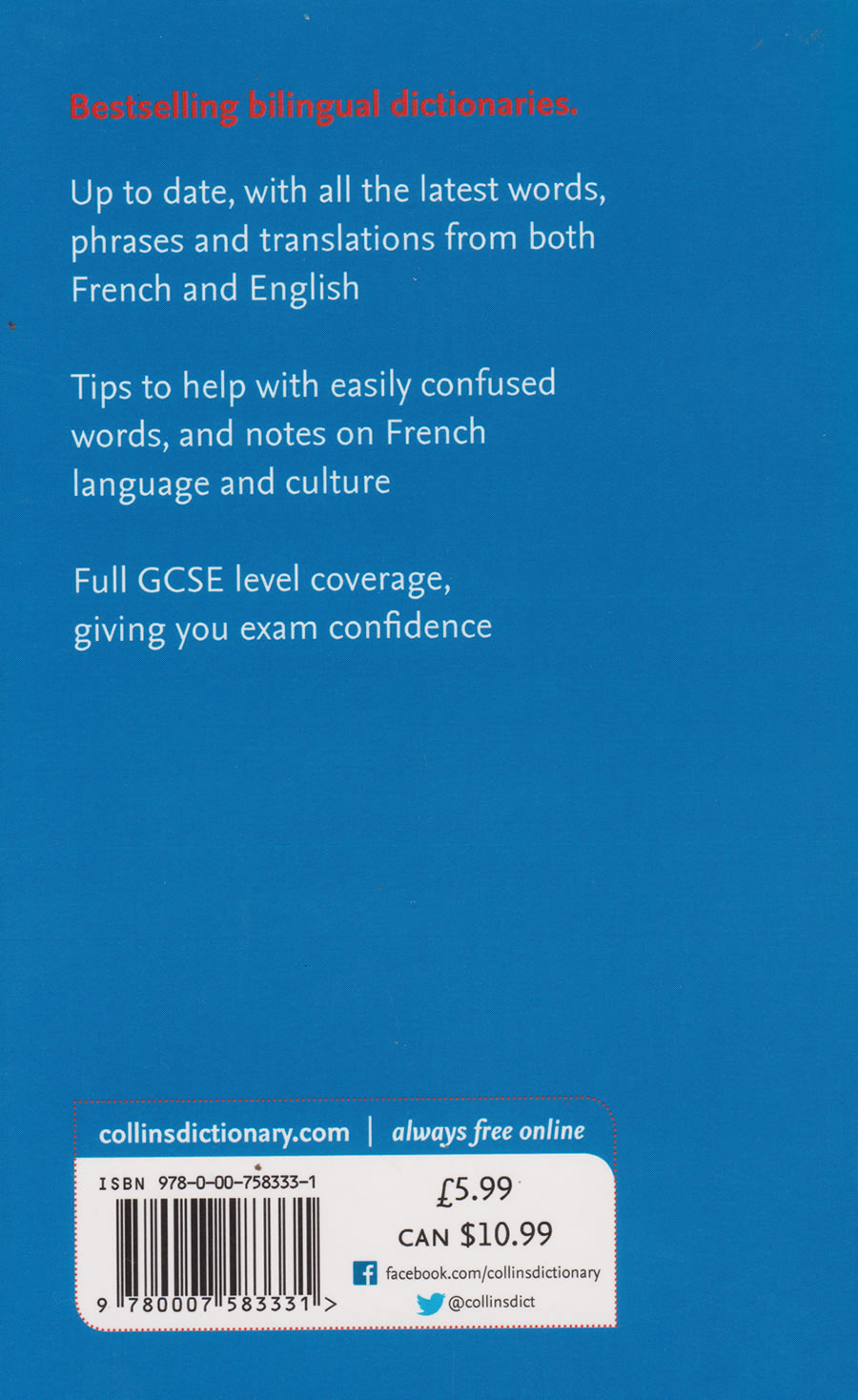 Collins French Dictionary Essential edition | Books, Stationery, Computers,  Laptops and more  Buy online and get free delivery on orders above Ksh