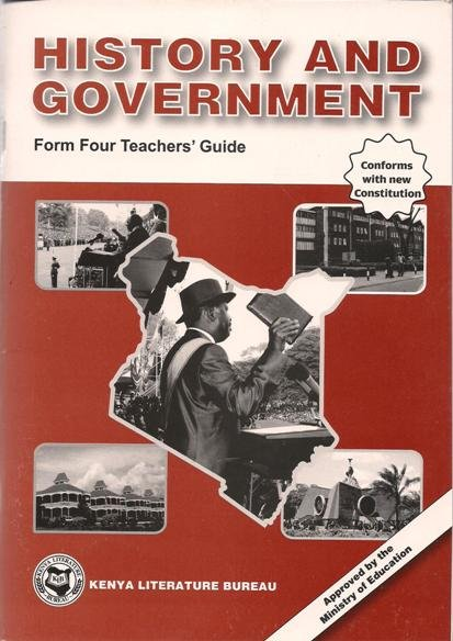 history and government form 4 teachers klb text book centre rh textbookcentre com