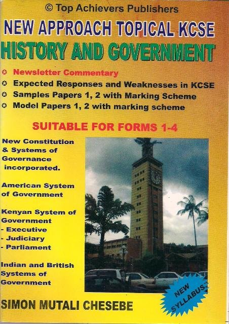 New Approach Topical KCSE History Form 1-4   Books, Stationery, Computers,  Laptops and more  Buy online and get free delivery on orders above Ksh