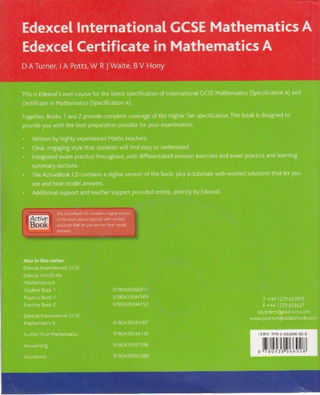 IGCSE Mathematics Course
