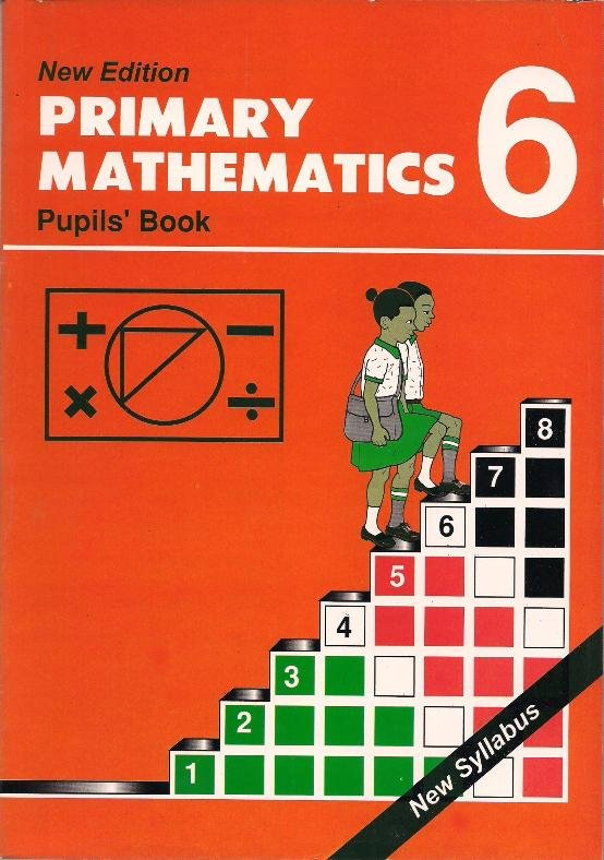 Primary Mathematics Std 6 Text Book Centre