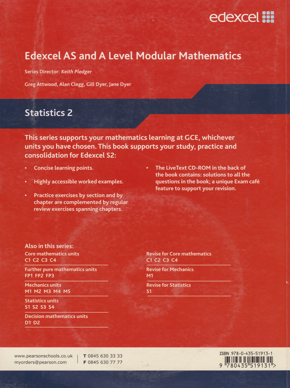 Statistics 2 Edexcel AS and A Level Modular Mathematics | Books,  Stationery, Computers, Laptops and more  Buy online and get free delivery  on orders