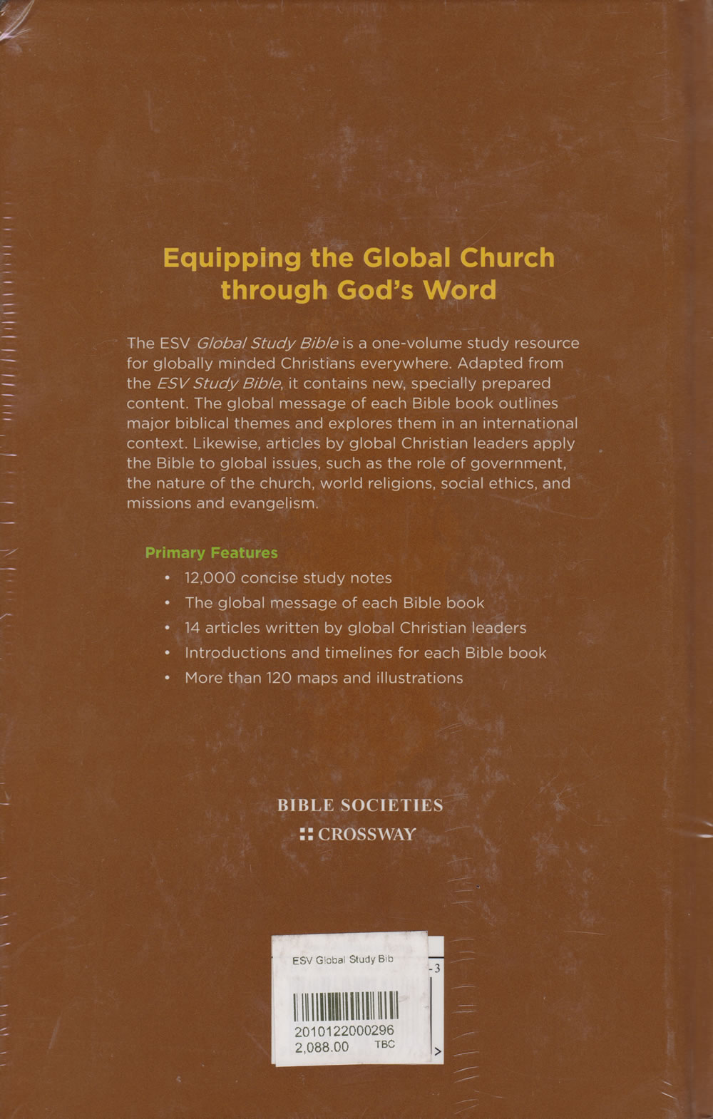 ESV Global Study Bible (Hardcover) | Books, Stationery, Computers, Laptops  and more  Buy online and get free delivery on orders above Ksh  2,000  Much