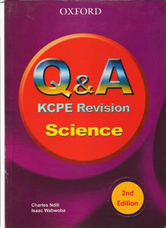 Question & Answer KCPE Revision Science | Books, Stationery, Computers,  Laptops and more  Buy online and get free delivery on orders above Ksh   2,000