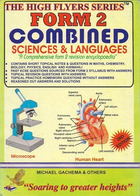 High Flyer Series KCSE Combined Science Subjects Form 2 | Books,  Stationery, Computers, Laptops and more  Buy online and get free delivery  on orders