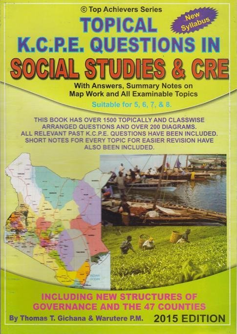 Top Achiever KCPE Questions in Social Studies & CRE | Books, Stationery,  Computers, Laptops and more  Buy online and get free delivery on orders  above