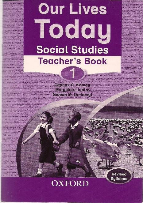 Our Lives Today Social Studies 1 Teacher's guide | Books, Stationery,  Computers, Laptops and more  Buy online and get free delivery on orders  above