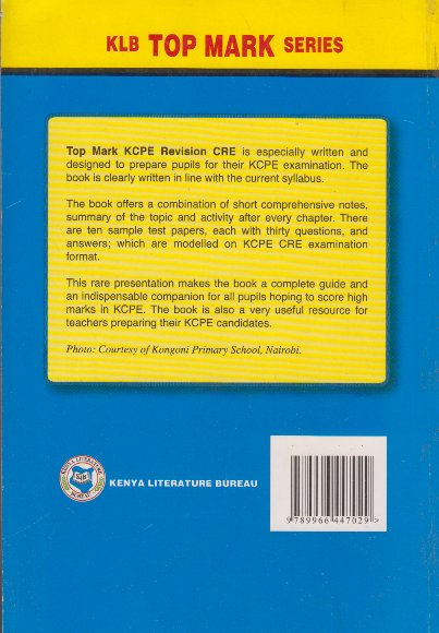 Topmark KCPE Revision CRE | Books, Stationery, Computers, Laptops and more   Buy online and get free delivery on orders above Ksh  2,000  Much more