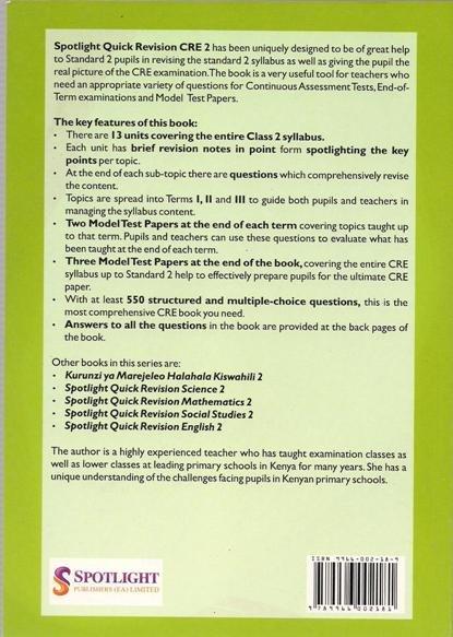 Spotlight Quick Revision CRE 2