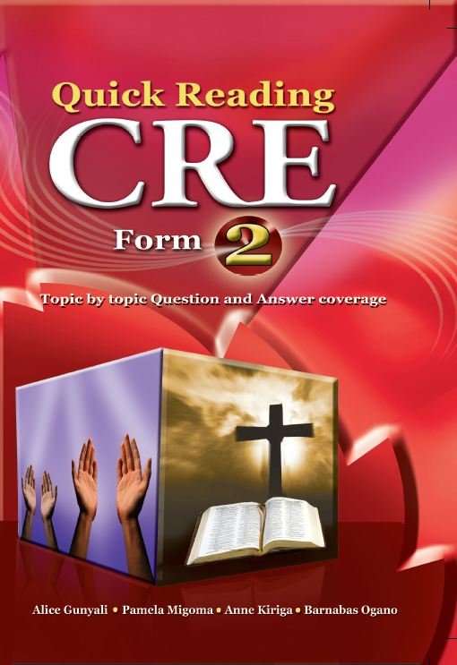 Quick Reading CRE Form 2 | Books, Stationery, Computers, Laptops and more   Buy online and get free delivery on orders above Ksh  2,000  Much more than