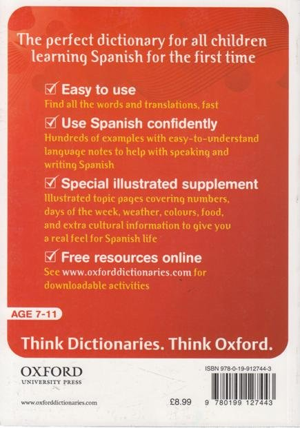 Oxford First Learner's Spanish Dictionary | Books, Stationery, Computers,  Laptops and more  Buy online and get free delivery on orders above Ksh