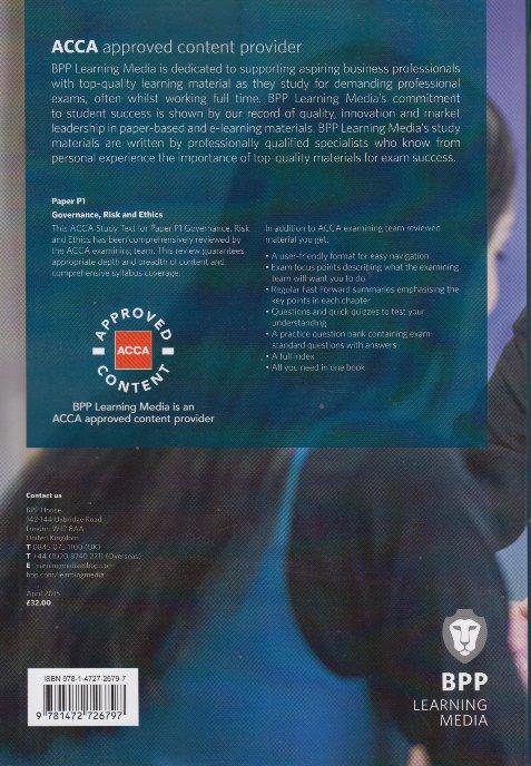 acca p1 study text pdf
