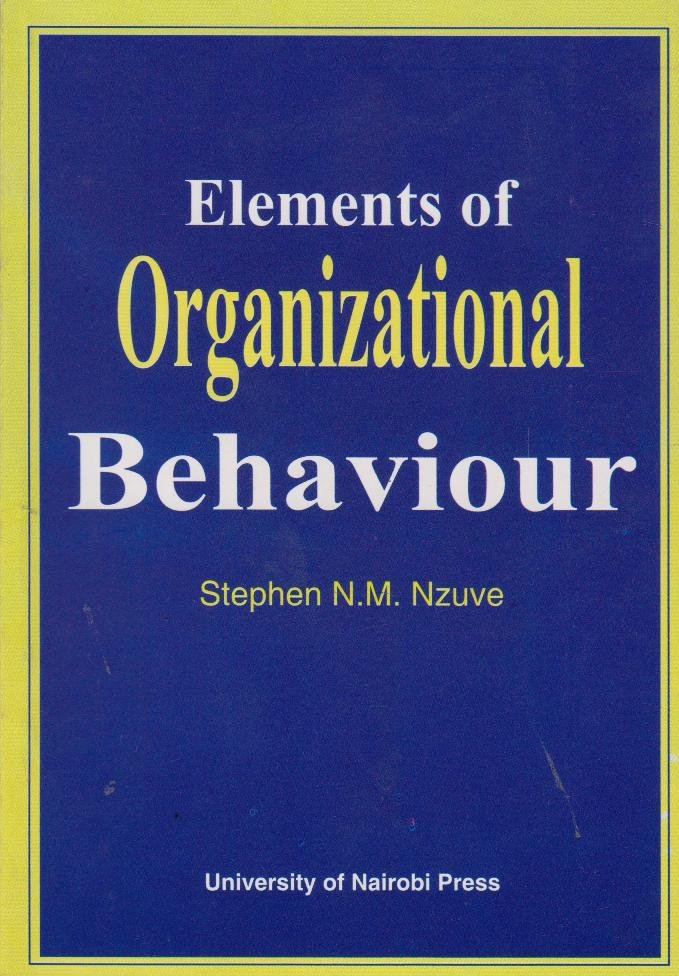 key elements in organizational behaviour  organizational behavior sheri anderson university of phoenix organizational behavior and group dynamics mgt-307 dennis keegan march 12, 2012 organizational behavior in this paper the subject to explain is the key concepts and terminology of organizational culture, organizational behavior, diversity, and communication.