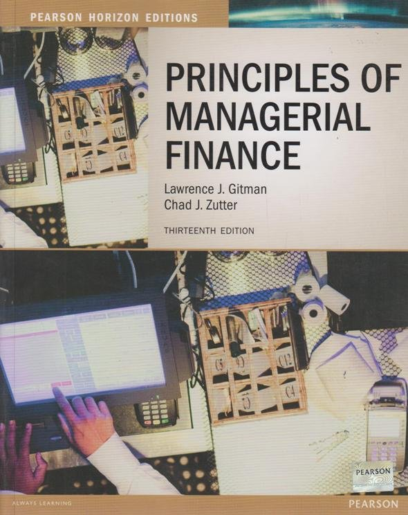 principle of managerial finance Access principles of managerial finance 13th edition solutions now our solutions are written by chegg experts so you can be assured of the highest quality.