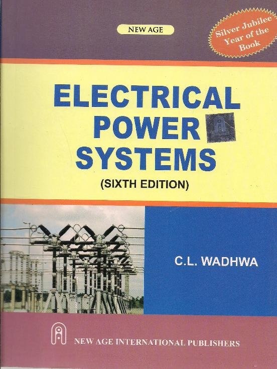 Electrical Power Systems 6th Edition | Books, Stationery, Computers,  Laptops and more  Buy online and get free delivery on orders above Ksh   2,000
