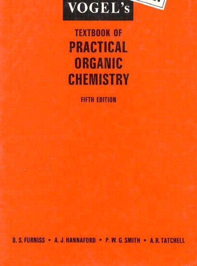 Vogel's Textbook of Practical Organic Chemistry | Books, Stationery,  Computers, Laptops and more  Buy online and get free delivery on orders  above