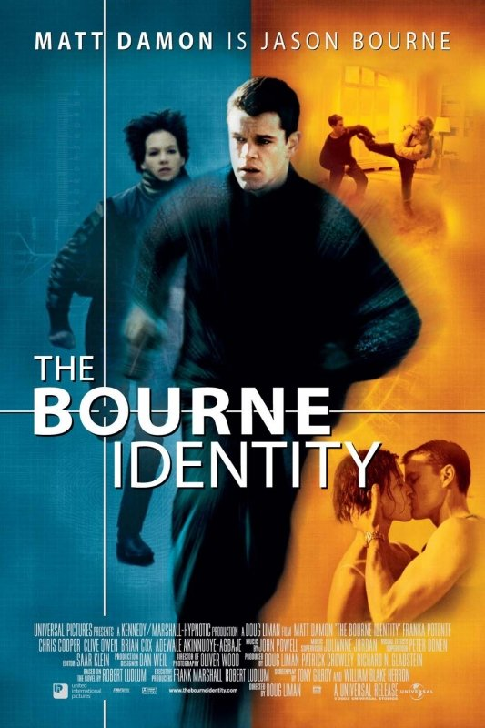 the bourne identity book and film