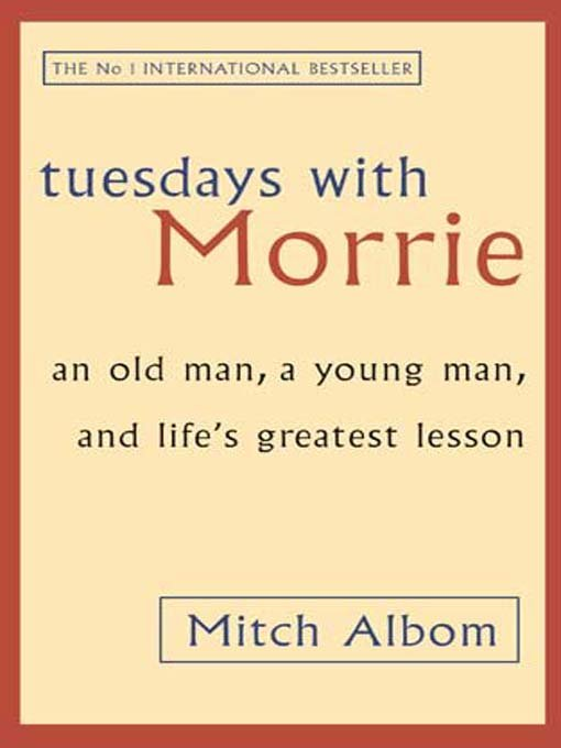 tuesdays with morrie central idea Reading tuesdays with morrie opened me up to these incredible life lessons i am still trying to absorb this idea however, i agree with the explanation of morrie.