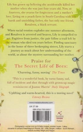 heroic journey in secret life of the bees essay The secret life of bees was prepared for you to get help with academic papers we can also write any type of paper for you for a reasonable price.