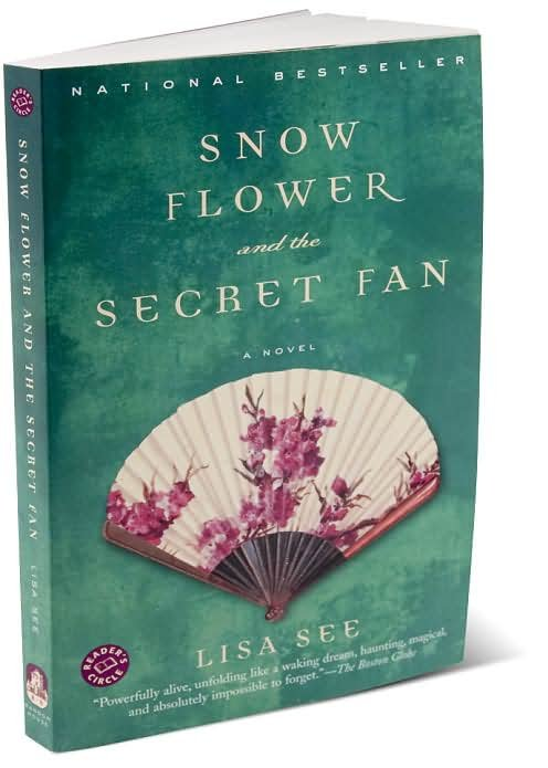 a comparison of lisa sees book snow flower and the secret fan