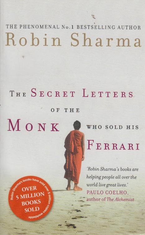 Secret Letters Of The Monk Who Sold His Ferrari Text Book Centre
