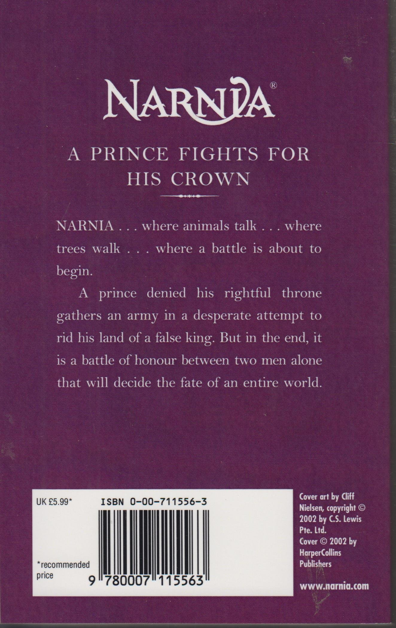 The Chronicles of Narnia: Prince Caspian Book 4