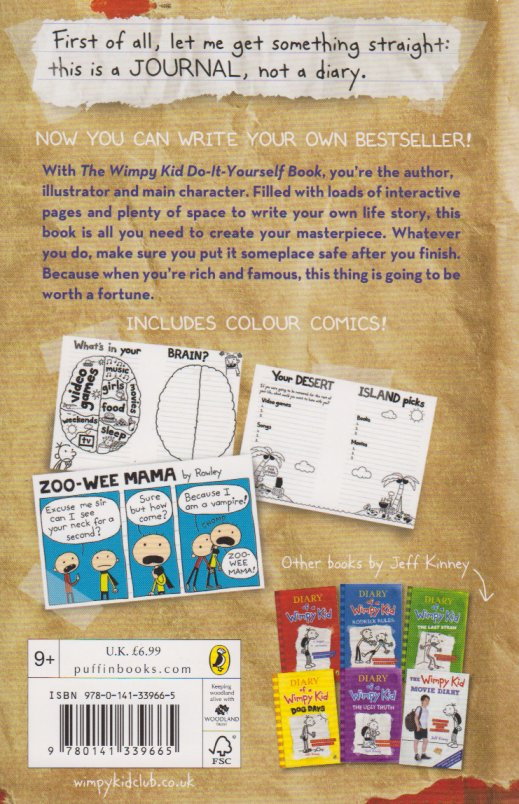 Wimpy kid do it yourself book text book centre wimpy kid do it yourself book solutioingenieria Gallery