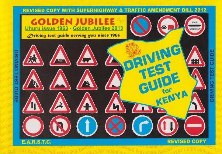 Driving Test Guide for Kenya Revised | Text Book Centre