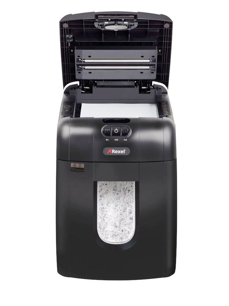 paper shreder A paper shredder is a mechanical device used to cut paper into either strips or fine particles government organizations, businesses, and private individuals use shredders to destroy private, confidential, or otherwise sensitive documents.
