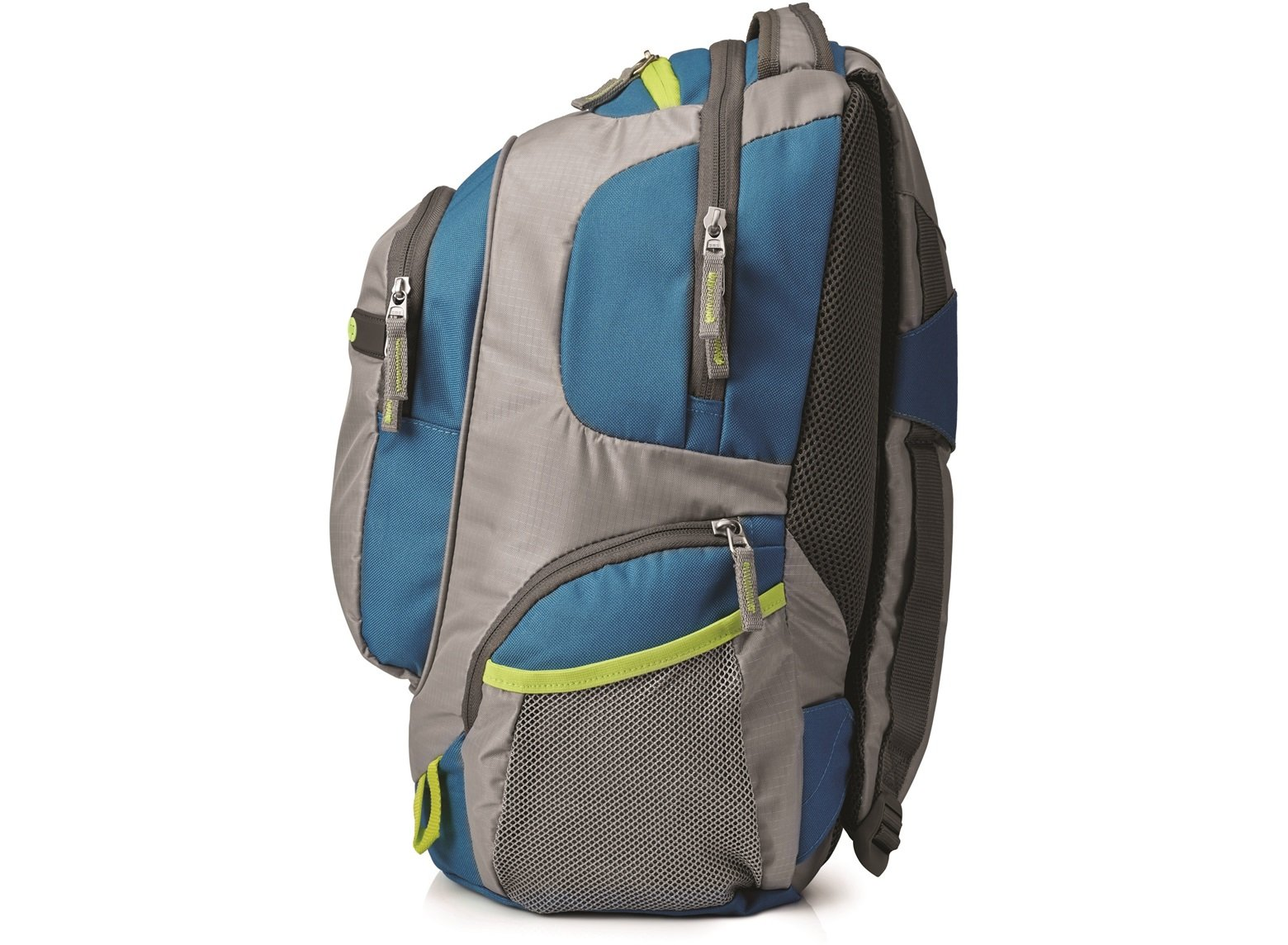 ... HP Outdoor Sport grey blue Backpack F4F29AA 32b615718ff44