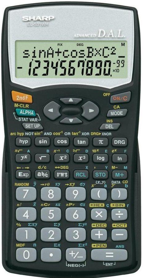 sharp scientific calculator el 531wh bk text book centre rh textbookcentre com Army Sharp Manual Army Sharp Manual