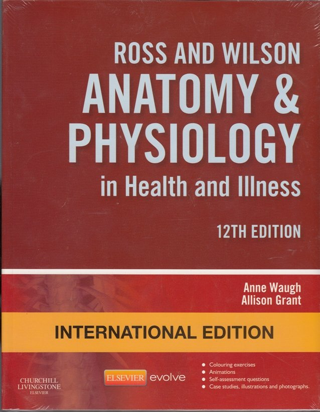 Ross and Wilson Anatomy & Physiology 12th Eition | Text Book Centre