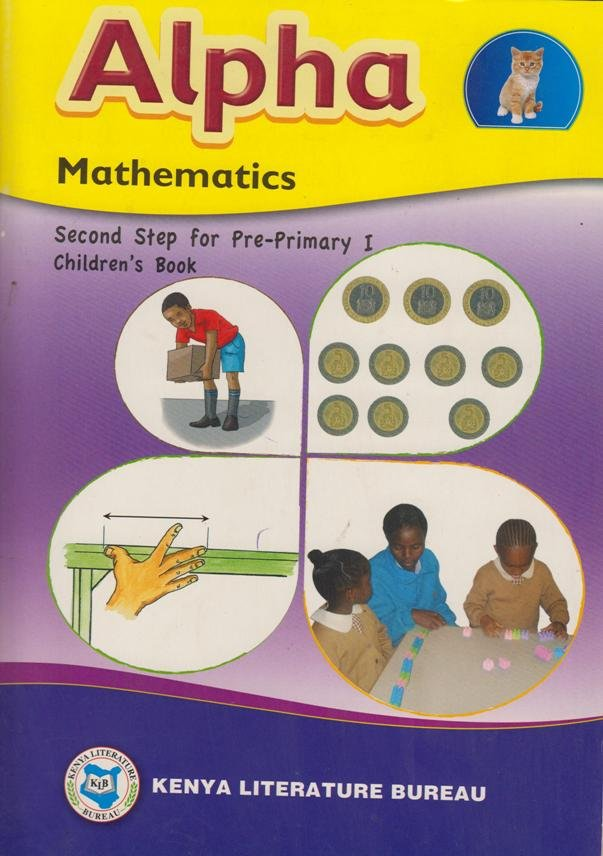Alpha Mathematics Pre-Primary I | Text Book Centre