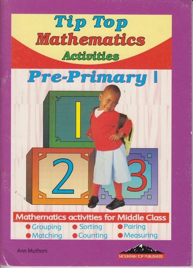 Tip Top Mathematics Activities Pre-Primary 1 | Text Book Centre