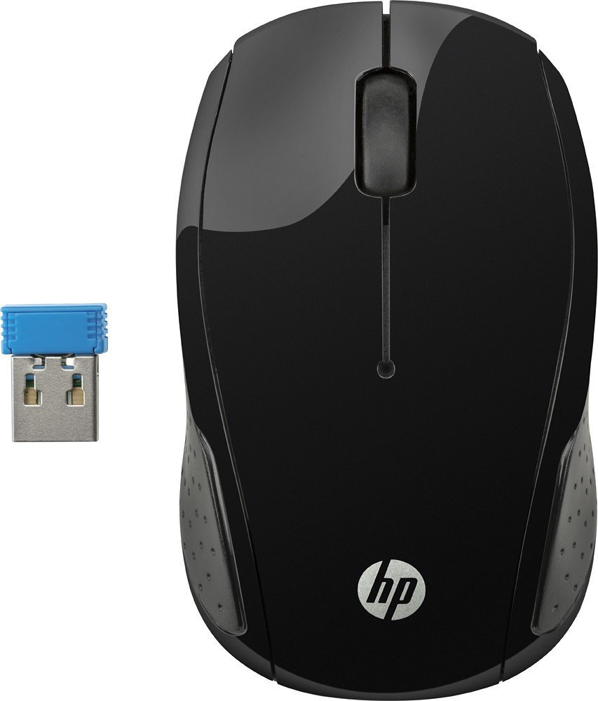 hp 200 black wireless mouse text book centre. Black Bedroom Furniture Sets. Home Design Ideas