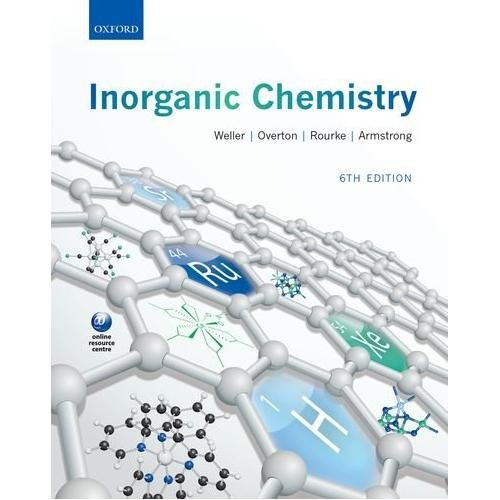 Inorganic Chemistry 6ED (Oxford) | Books, Stationery, Computers, Laptops  and more  Buy online and get free delivery on orders above Ksh  2,000  Much