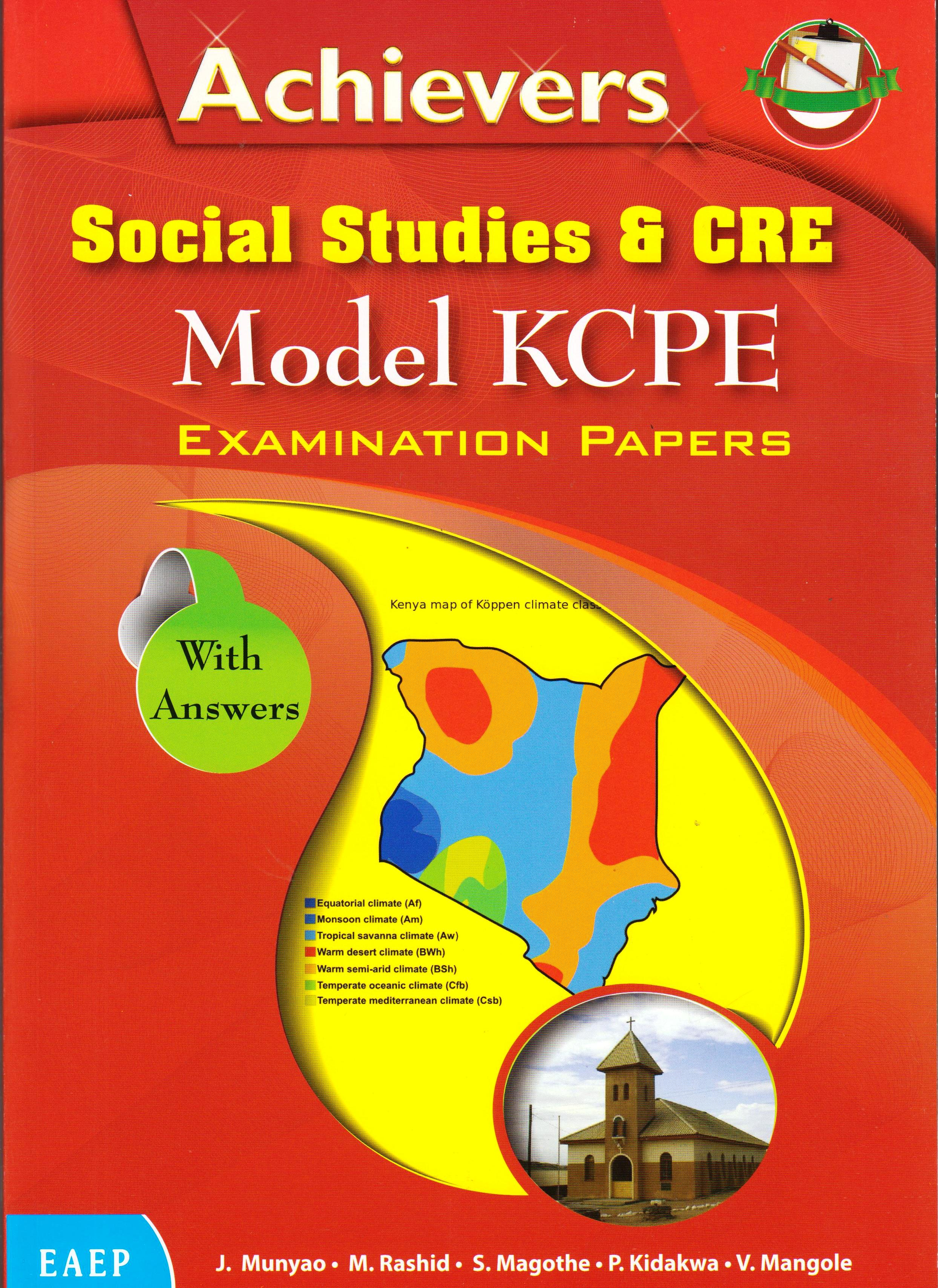 Achievers Social Studies & CRE Model KCPE | Books, Stationery, Computers,  Laptops and more  Buy online and get free delivery on orders above Ksh