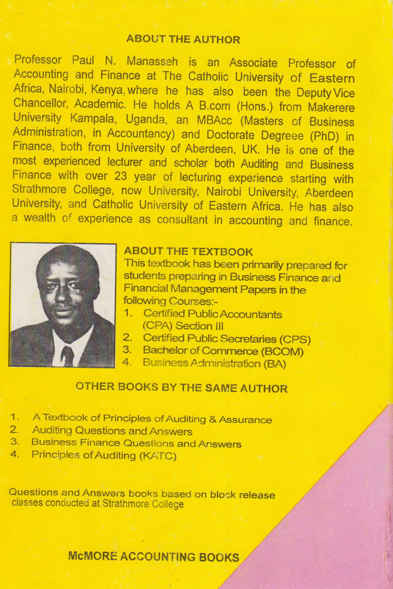 A Textbook of Financial Management | Books, Stationery, Computers, Laptops  and more  Buy online and get free delivery on orders above Ksh  2,000  Much