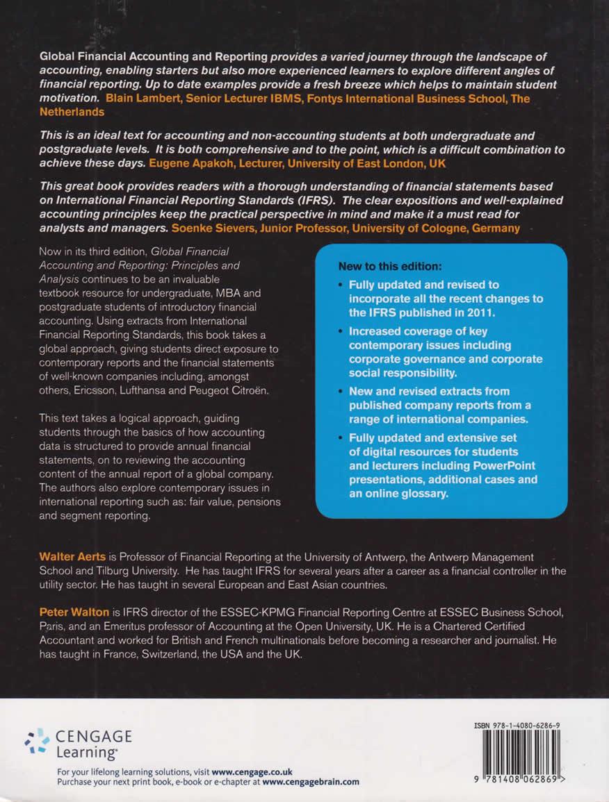 Global Financial Accounting 3ED