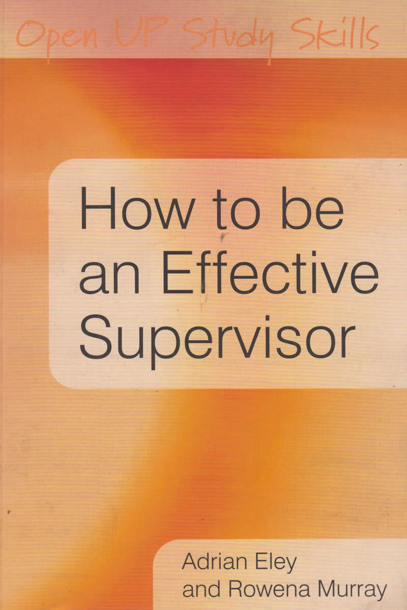 Communication on this topic: How to Be an Effective Supervisor, how-to-be-an-effective-supervisor/