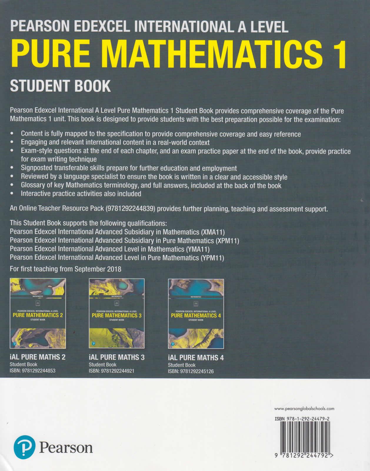 Mathematics book student pearson 9
