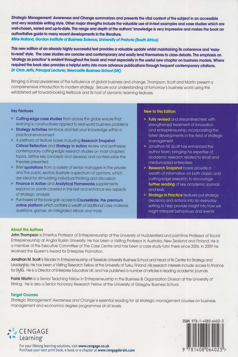 features of global strategic management