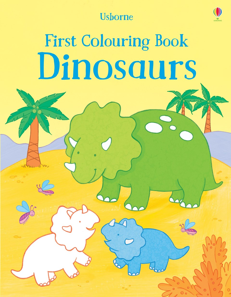 Usborne First Colouring Book Dinosaurs