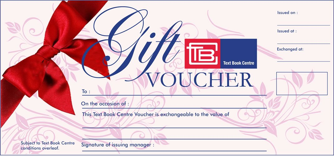 1000 Tbc Gift Voucher Text Book Centre