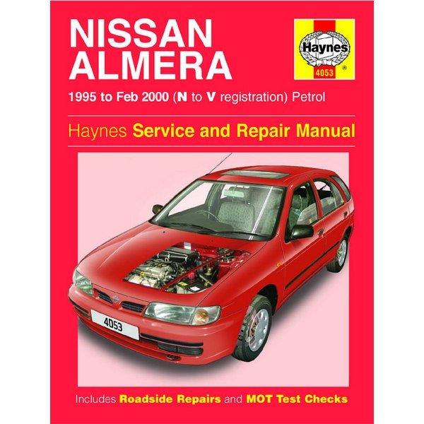 nissan almera 1995 to feb 2000 text book centre rh textbookcentre com nissan almera service repair manual nissan almera workshop manual