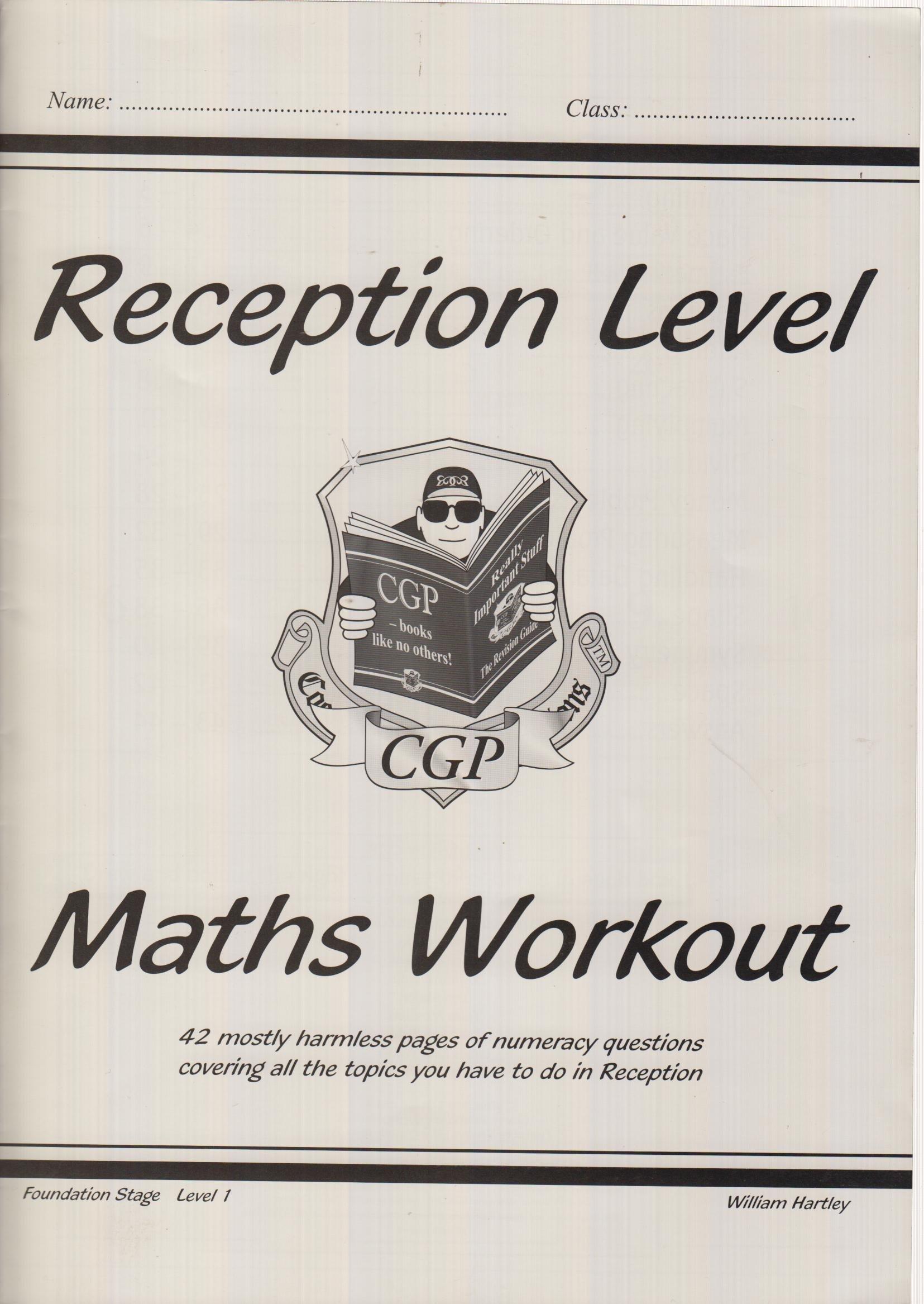 Reception Level Maths Workout | Text Book Centre