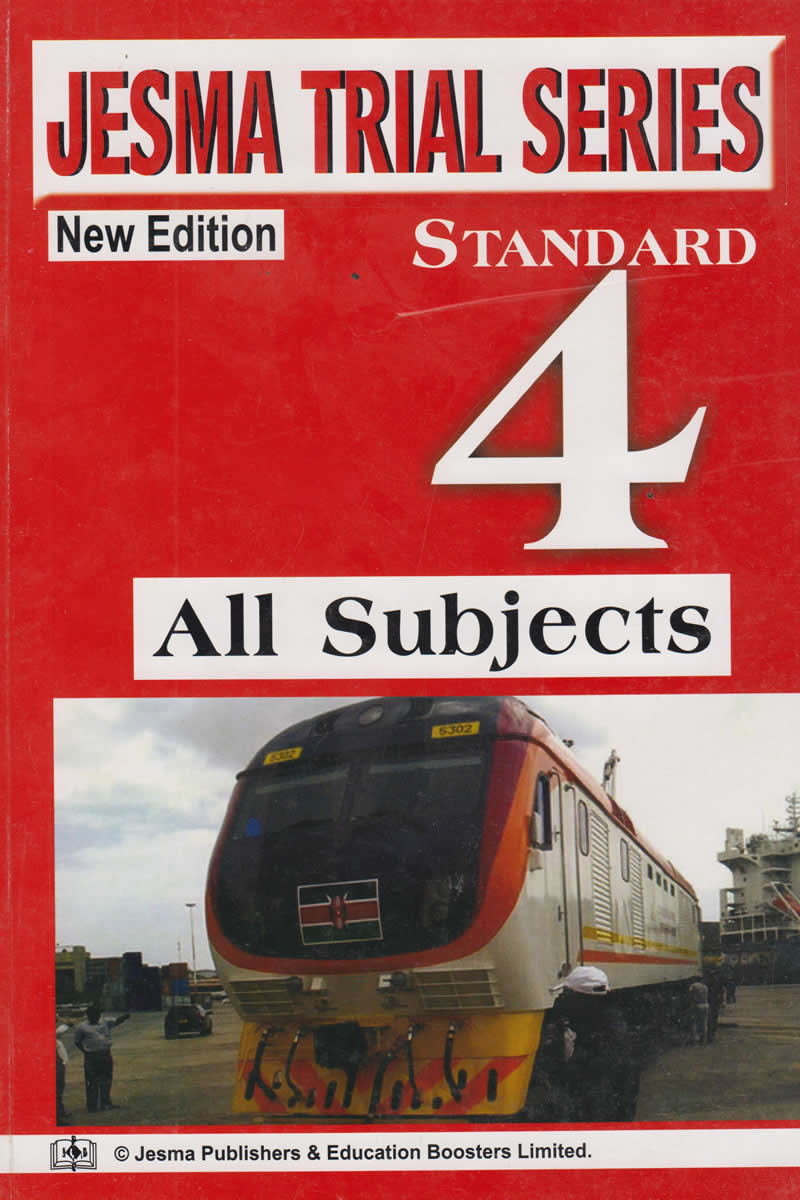 Jesma Trial Series All Subjects Standard 4 | Books, Stationery, Computers,  Laptops and more  Buy online and get free delivery on orders above Ksh